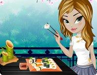 Chic Sushi Dinner