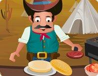 Cowboy Burger Campsite
