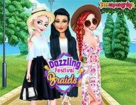 Dazzling Festival Braids
