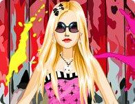 Emo Punk Scene Girl