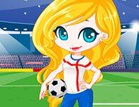 Girls Go Soccer