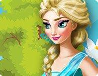 Pregnant Elsa Easter Eggs