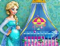 Pregnant Elsa Maternity Deco