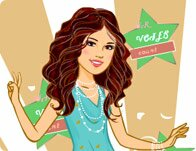 Teen Star Selena Dressup