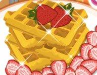 Delicious Waffle Baking